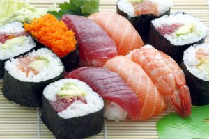 Free-Plate-Of-Sushi-Food-High-Resolution-Clip-Art